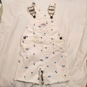 CARTERS Baby short overalls size 18 months
